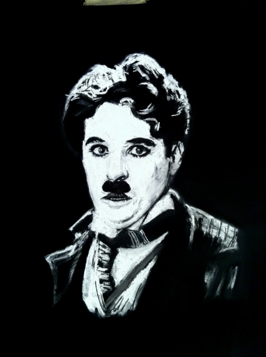 Charlie Chaplin por maximuslevrai